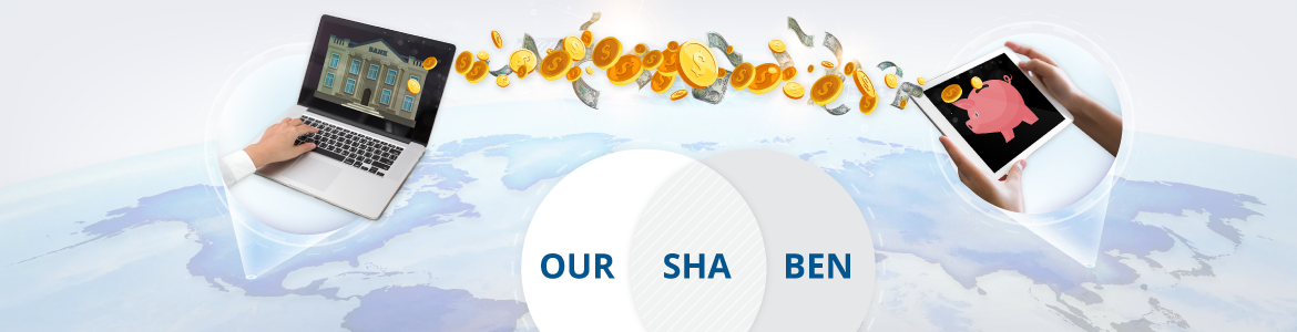 BEN, SHA, OUR are payment instructions in international bank wire transfers
