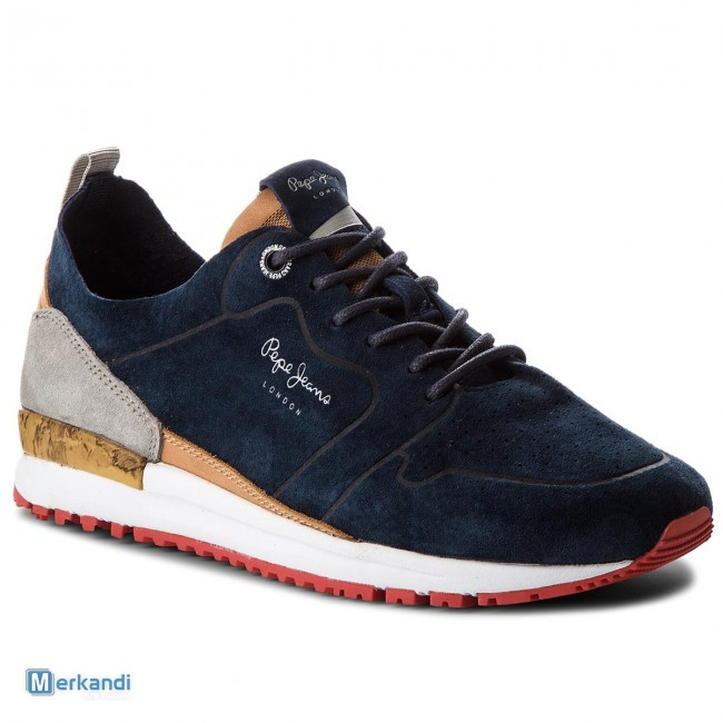 d8ae727b6ac Stock PEPE JEANS LONDON SS18 footwear [211560] | Stock lot shoes ...