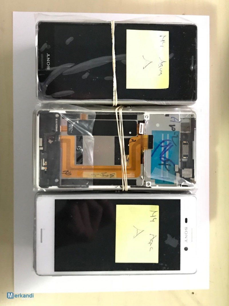 I recommend the offer: lot lcd sony xperia M4, M5, Z5, T3 original  disassembly [153654] | Mobile phones accessories | merkandi com