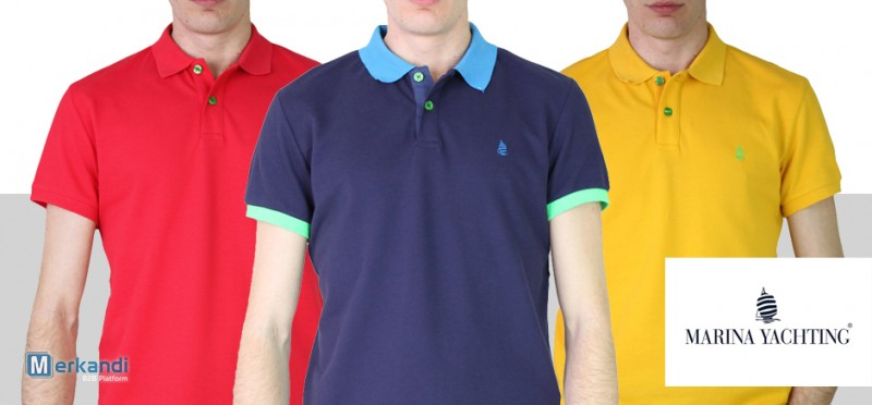 low priced 81226 2047a I recommend the offer: Stock MARINA YACHTING Man Polo SS2019 only 19 Euro!  [314298] | Men's clothing | merkandi.com