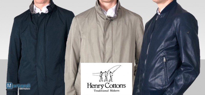 more photos 47c7e c3199 I recommend the offer: Stock HENRY COTTON'S TRENCH and JACKET Man only 60  euros! [306038] | Men's clothing | merkandi.com