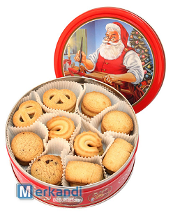 Christmas Cookies In A Tin Box Food Stocks Official Archives Of