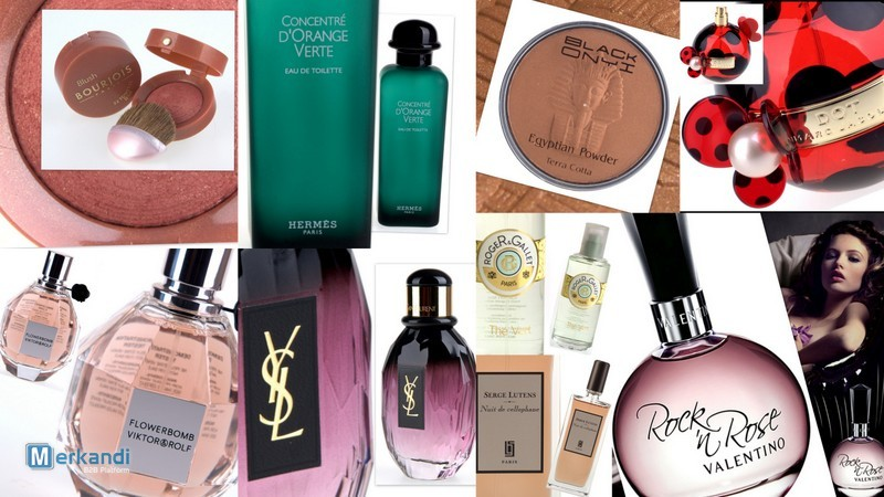 Store liquidation stock of perfumes and cosmetics | Storage auctions