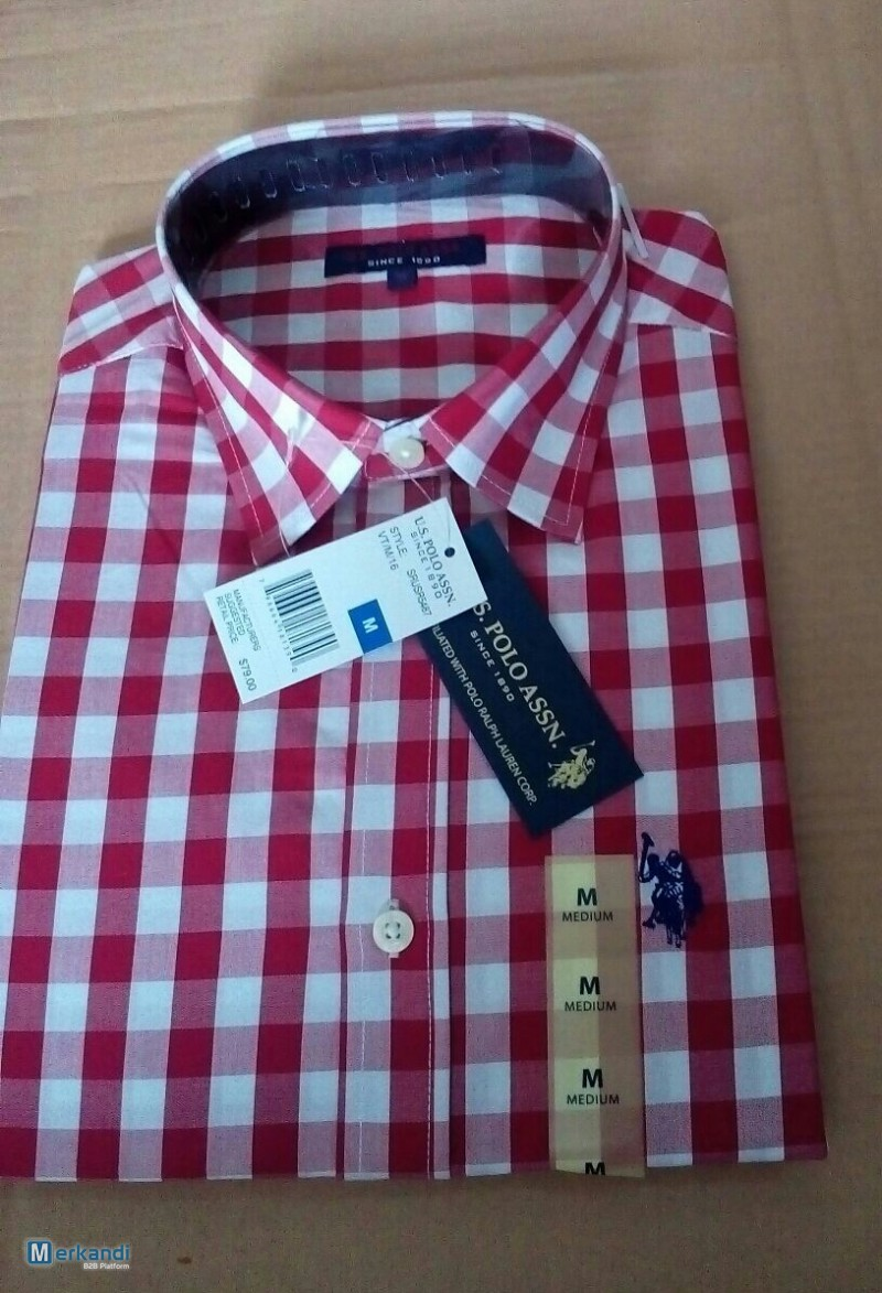 X Us Polo Mens Shirts Smart Casuals Cotton Only 6 Mens Clothing