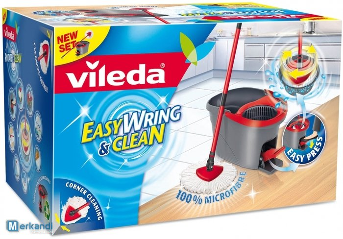 Vileda Easy Wring And Clean Spin Mop Bathware Official