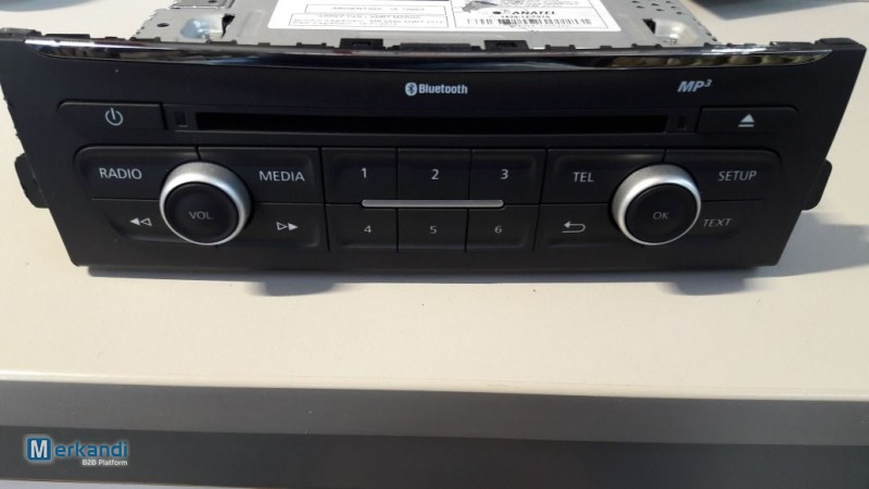 renault car radio cd mp3 bluetooth spare parts. Black Bedroom Furniture Sets. Home Design Ideas