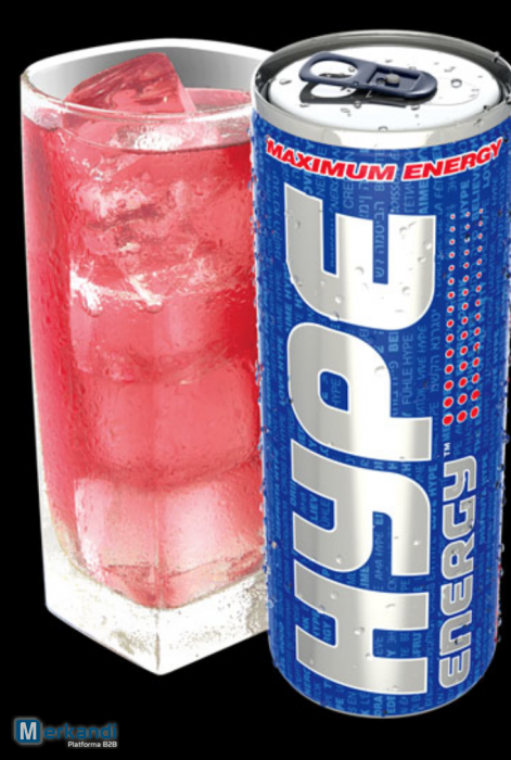 Bankrupt Stock Hype Energy Drink Only 1 Per Case Of 24