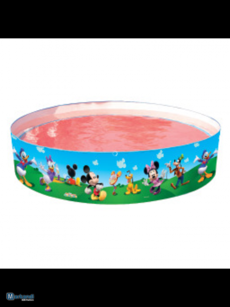 Bestway Inflatable Swimming Pool Disney Mickey Mouse Fill