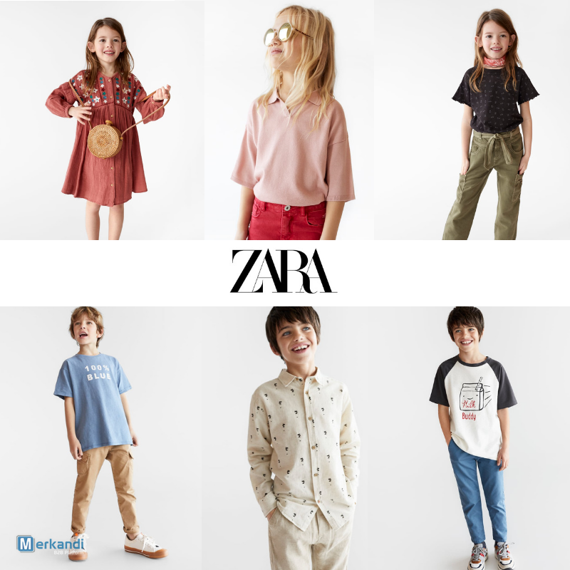 19073bd9 ZARA KIDS MIX [299765] | Baby & children clothes | merkandi.com