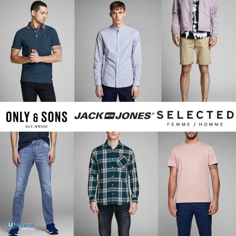 top quality preview of detailed look JACK & JONES/ SELECTED/ ONLY & SONS MEN'S MIX | Men's ...