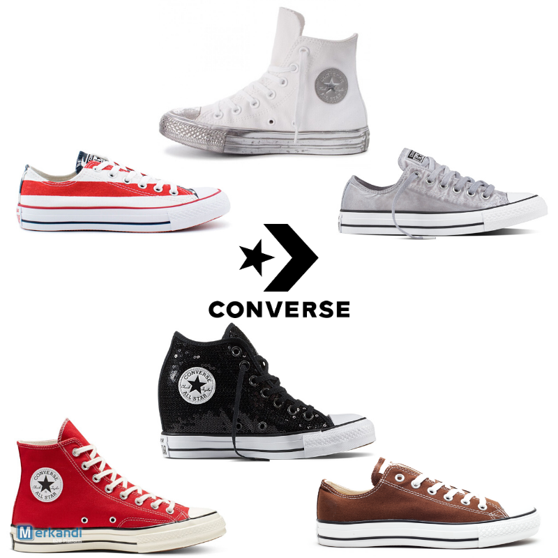 CONVERSE SHOES MIX FROM 15,90 €PC [355643]   Stock lot