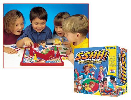 """SSHH!...Don't Wake Dad"" board game"