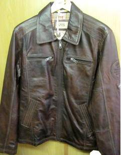 Camel active men's leather jacket