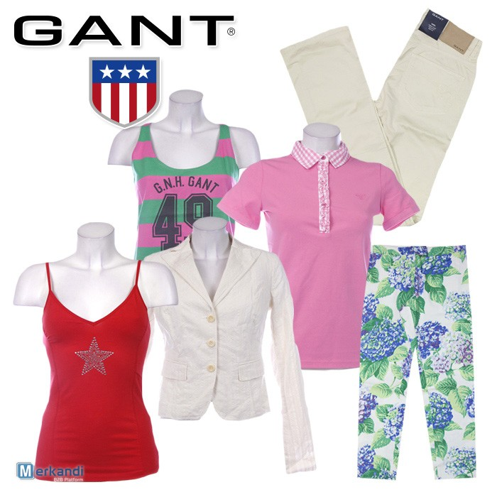 another chance classic fit the best attitude GANT clothes for women wholesale price. SUMMER SALE ...