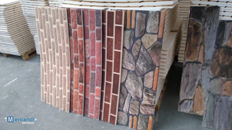 3D BRICK AND STONE EFFECT DECORATIVE INSULATION WALL PANELS