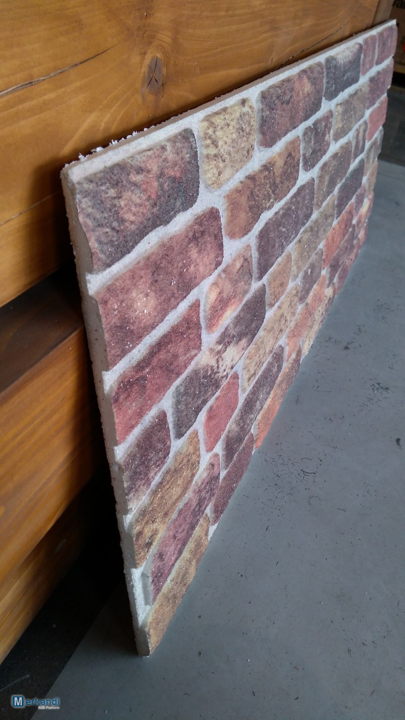 3d Brick And Stone Effect Decorative Insulation Wall