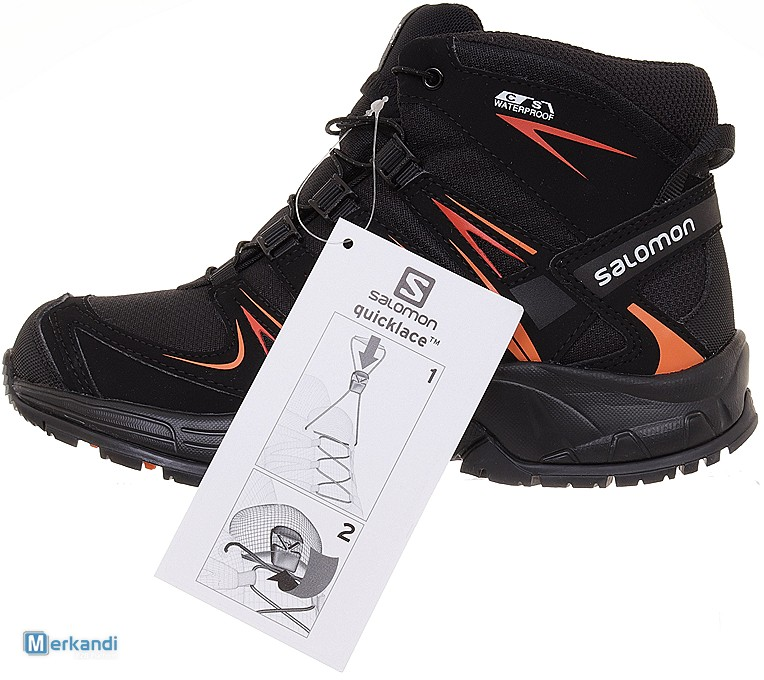 Salomon XA Pro 3D Mid CS WP J waterproof 394587 Gr 36 gqJ4w