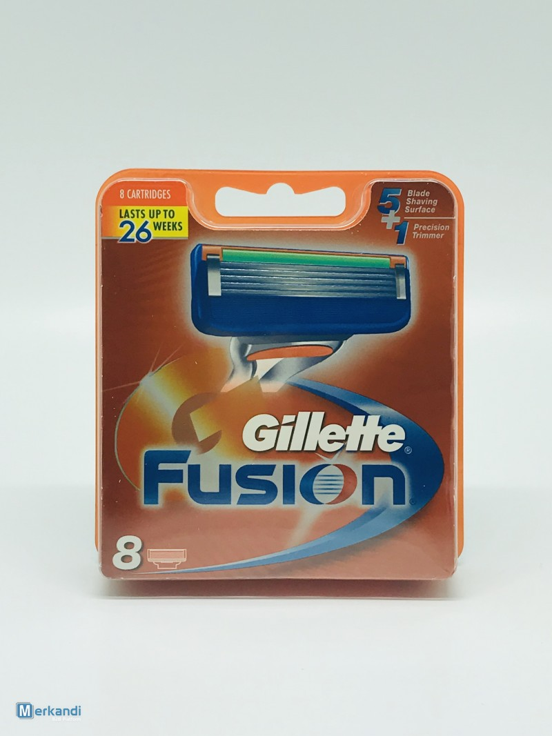 Gillette clearance stock - Gillette® Fusion 8-pack - price