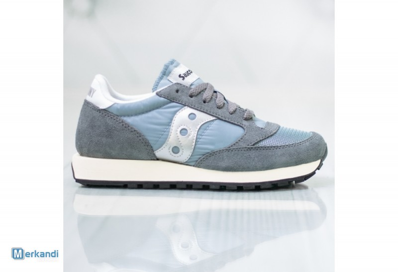 brand new fb8bc 6ad2a I recommend the offer: SAUCONY JAZZ ORIGINAL VINTAGE GREY/BLUE/WHITE  S60368-39 [286545] | Stock lot shoes | merkandi.com