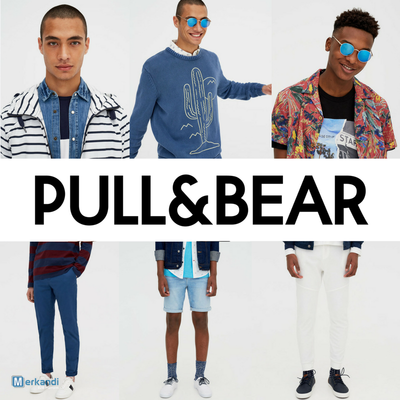 9af05676 PULL & BEAR MEN'S SPRING-SUMMER COLLECTION- FROM 4.50 €/PC [168365 ...