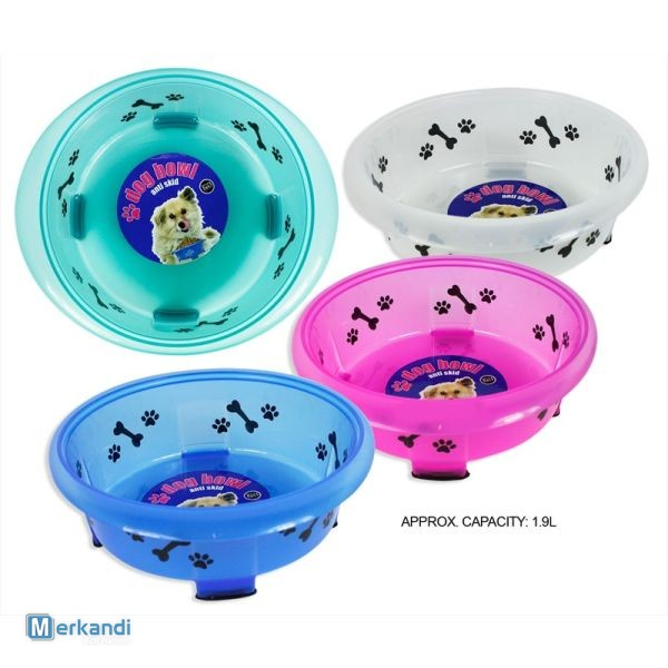 Chewing toys for dogs, dog food bowl, retractable lead and