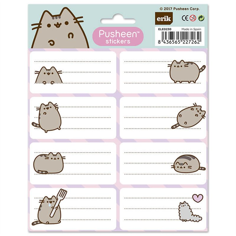 Pusheen The Cat Stickers   8436565227262