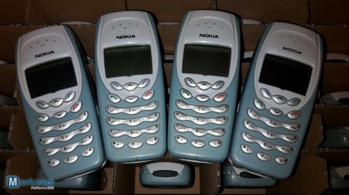 Nokia 3410 Power On Tested Phones ...
