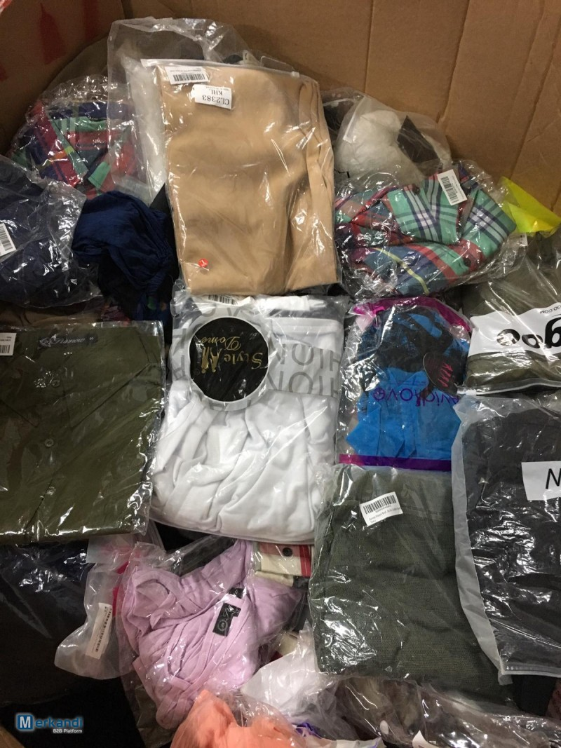 I recommend the offer: Stocklots clothes everything NEW overstock amazon mx  [294761] | Stock lot clothing | merkandi com