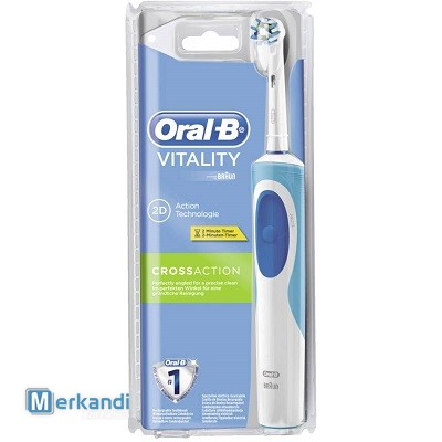 I recommend the offer: ORAL-B ELECTRIC TOOTHBRUSHES - 9,99€/unit  [263293]  | Toiletries | merkandi com