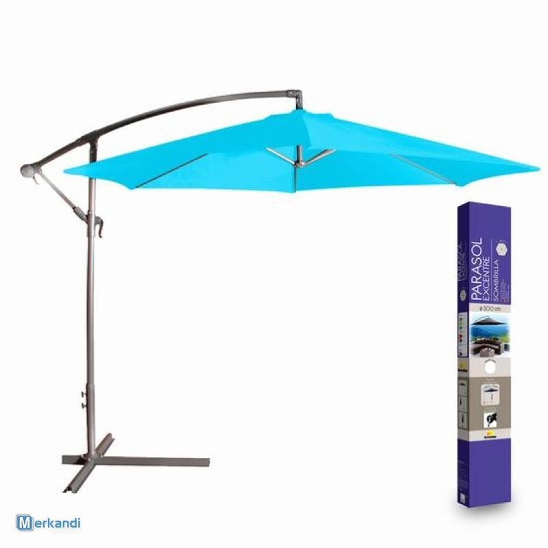 FREE STANDING PARASOL TURQUOISE | Gardening products | Official