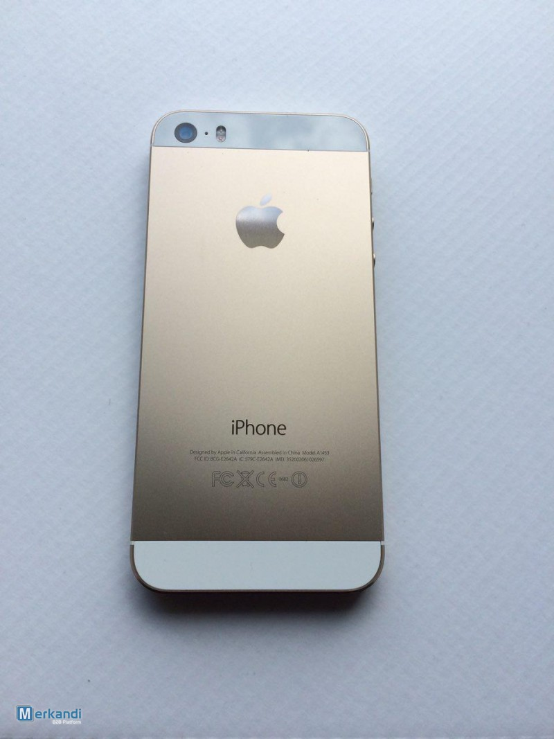 Iphone 5s 32gb Grade A B Unlocked 500pcs Smartphones Mobile Image 4