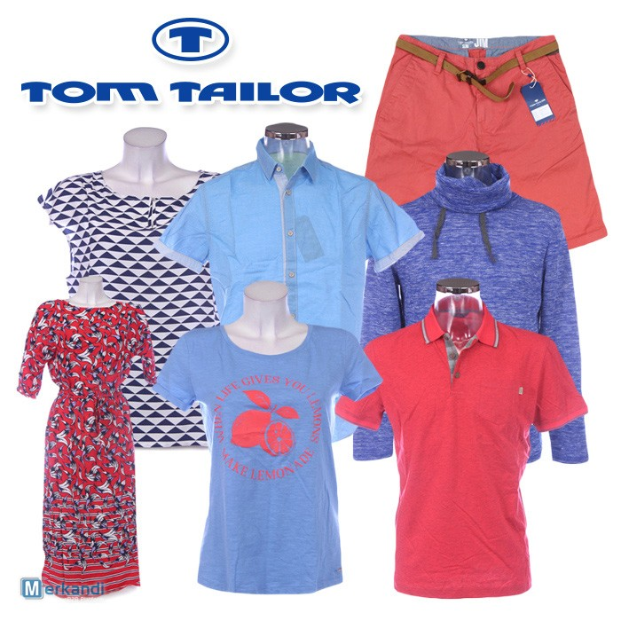 TOM TAILOR clothes for men and women wholesale. Spring