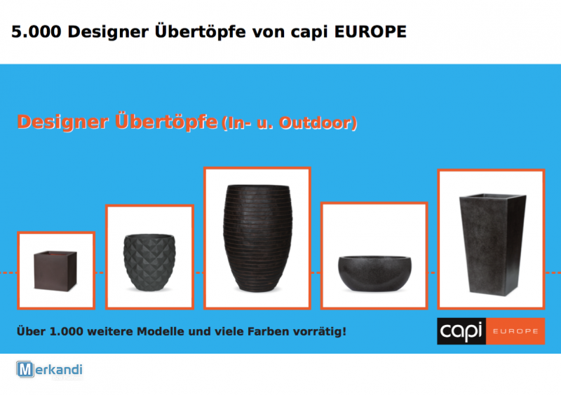 Capi Europe flower pot from capi europe   gardening products   official archives