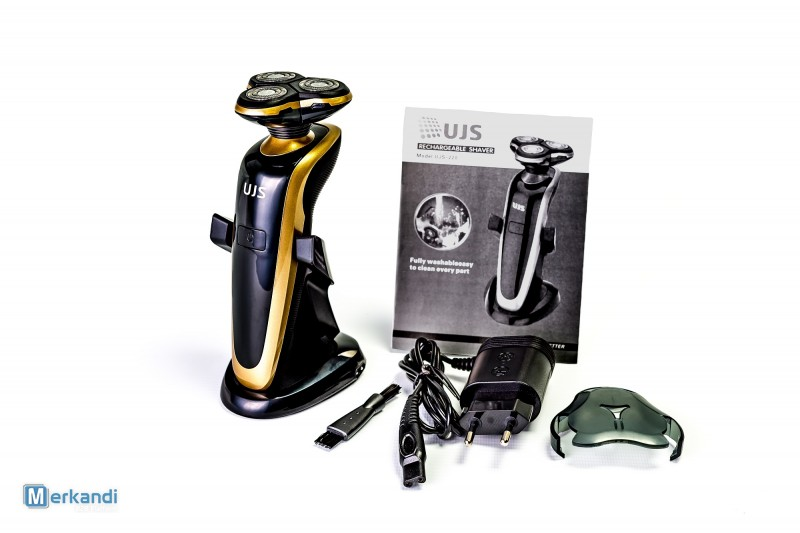4D Electric Shaver with triple rotary heads UJS 220, brand new